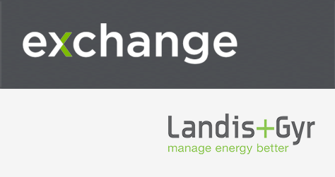 Landis + Gyr Exchange logo
