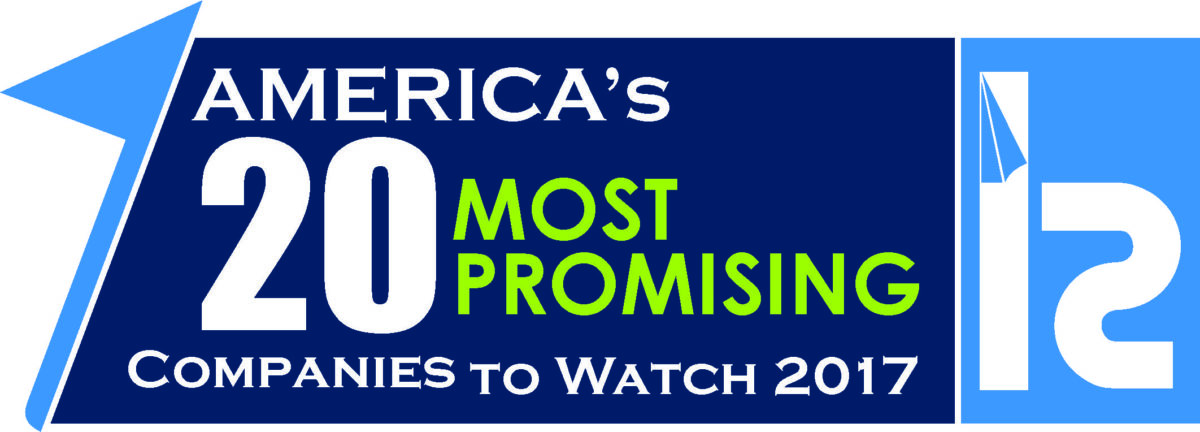 America's 20 Most Promising companies to watch 2017 logo